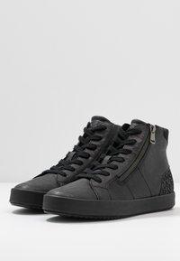 Geox - BLOMIEE - Sneakers high - black - 4