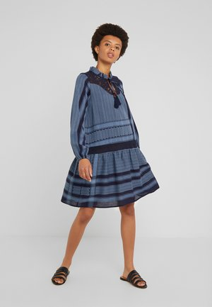 CAROLYN - Day dress - navy