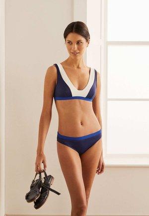 Bikini bottoms - blaubeere
