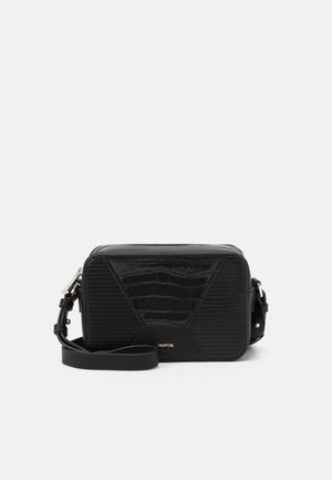 CROSSBODY BAG RACHEL - Umhängetasche - black