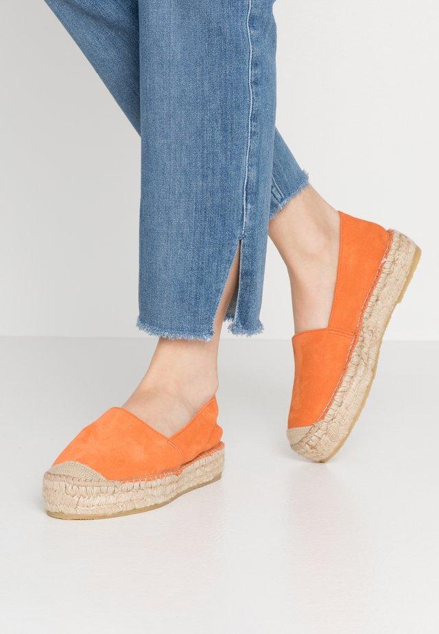 IDA - Espadrilles - orange