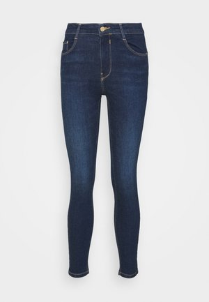 PUSH UP - Jeansy Skinny Fit - mottled dark blue