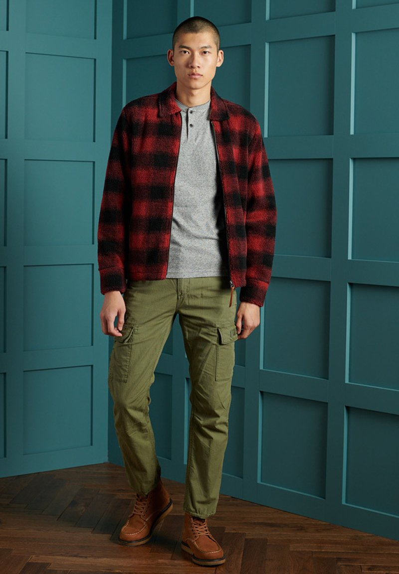 Superdry - Winter jacket - red check