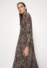 Lindex - DRESS KRINKLA - Maxi dress - offblack - 3