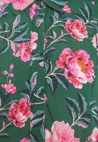 Tom Joule - ATHENA - Shirt dress - green floral - 2