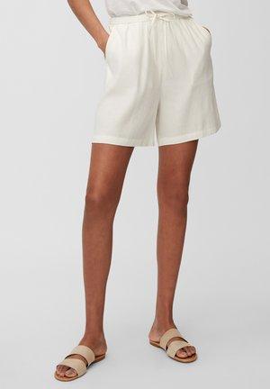 Shorts - cotton white