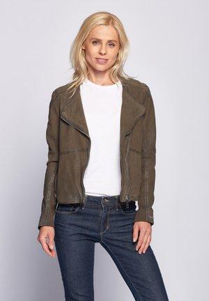 Leather jacket - shadow