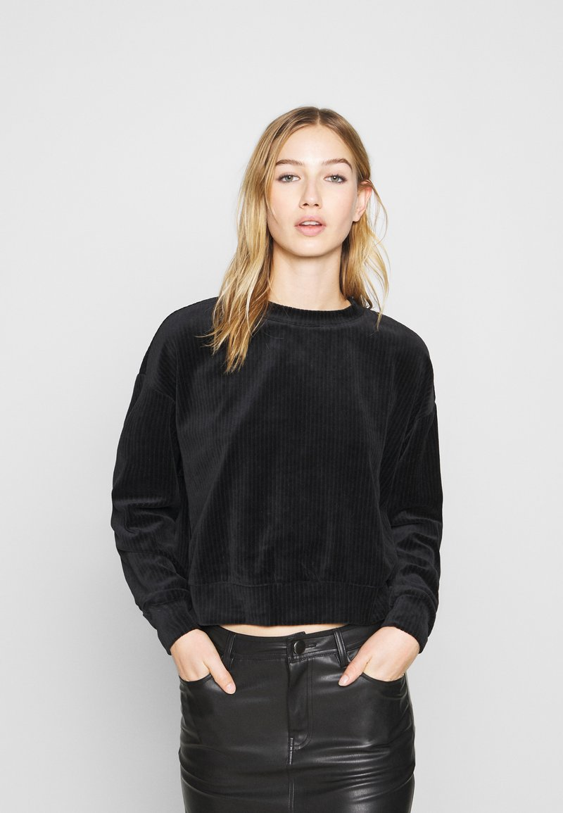 Monki - CORY - Sweatshirt - black