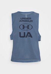 Under Armour - MUSCLE TANK - Camiseta de deporte - mineral blue - 6