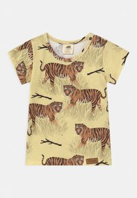 Walkiddy - TIGERS 2 PACK UNISEX - Print T-shirt - yellow - 2