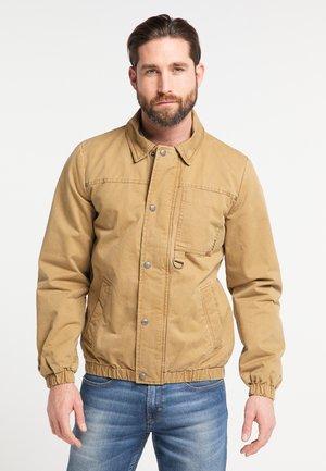 Light jacket - dunkelsand
