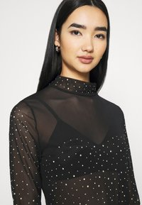 Nly by Nelly - DECORATED - Topper langermet - black - 4