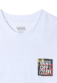 Vans - MN STITCH UP SS - Print T-shirt - white - 2