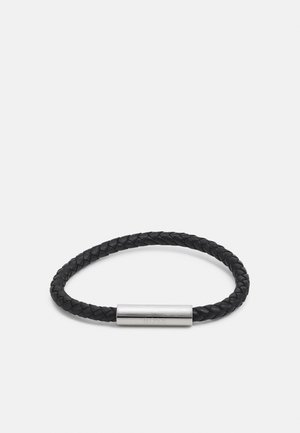 BRAIDED - Armband - black