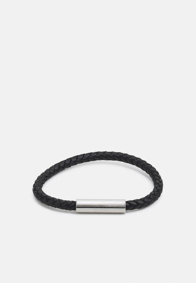BRAIDED - Armbånd - black