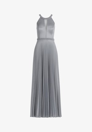 MIT PLISSEE - Maxi dress - iron blue