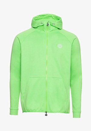 VITOR  - Zip-up sweatshirt - neon green