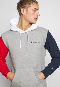 Champion - ROCHESTER TEAM HOODED - Bluza z kapturem - grey - 3