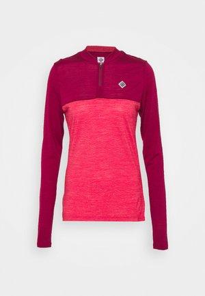 SWET NUL WOMEN - Funktionsshirt - beet red