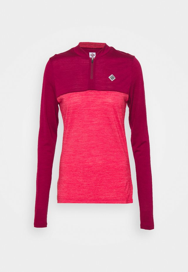 SWET NUL WOMEN - Sportshirt - beet red
