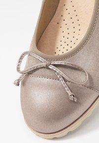 Gabor - Ballet pumps - visone - 2