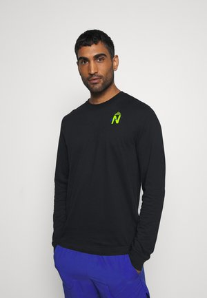 DRY TEE TRAIL - Sports shirt - black