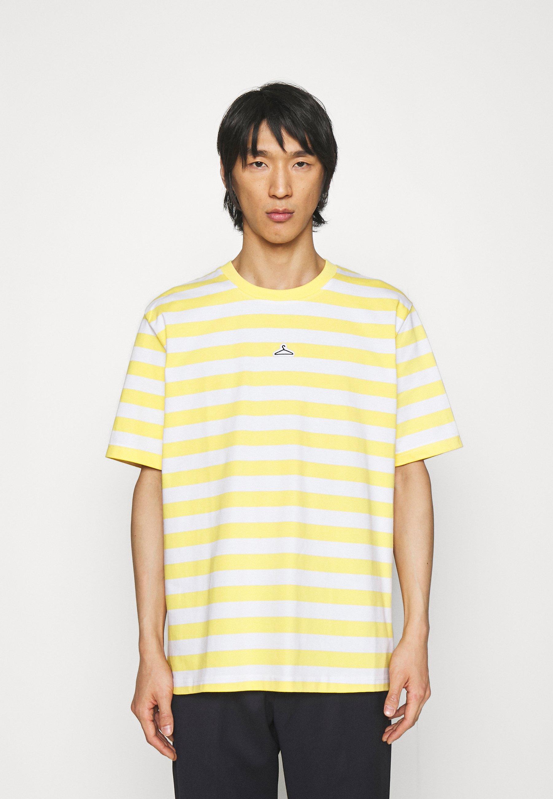 Homme HANGER STRIPED TEE - T-shirt imprimé