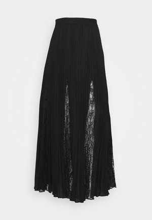 LUISA SKIRT - Pleated skirt - jet black
