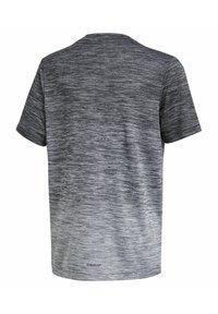 adidas Performance - Print T-shirt - schwarz\grey - 1