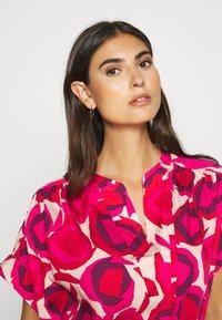 GANT - FLUID DESERT ROSE DRESS - Shirt dress - rich pink - 3