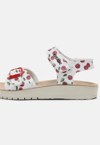 Geox - COSTAREI - Sandals - silver/red - 6