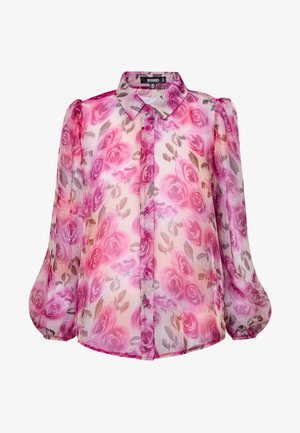 SHEER ROSE SHIRT - Blouse - pink