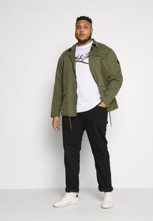 JORFLEXER 2 PACK - T-shirt print - navy blazer/white