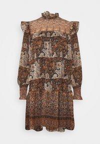 Object - OBJARYA SHORT DRESS - Day dress - sandshell - 0