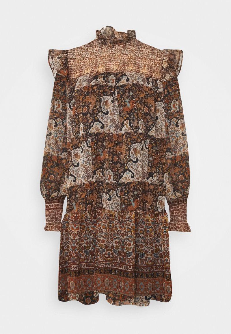 Object - OBJARYA SHORT DRESS - Day dress - sandshell