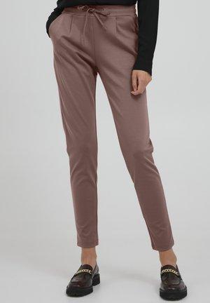 KATE - Kalhoty - marron