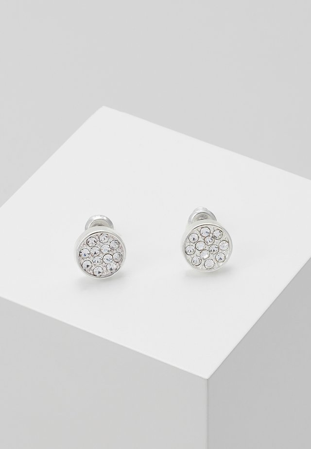 EARRINGS GRACE - Pendientes - silver-coloured