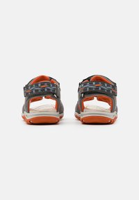 Friboo - LEATHER - Walking sandals - dark grey - 2
