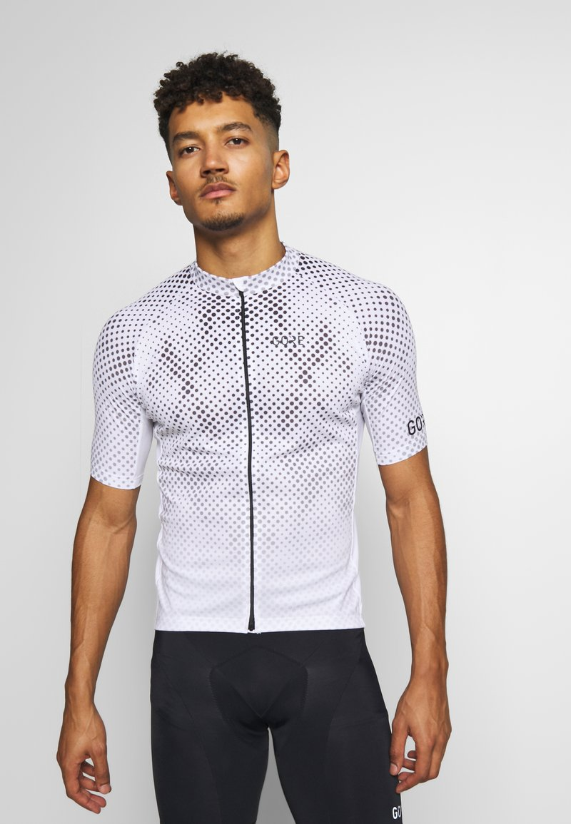 Gore Wear - ENERGIA TRIKOT - T-Shirt print - light grey