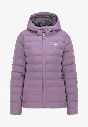 Winter jacket - rauchlila