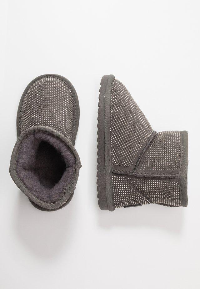 Korte laarzen - grigio scuro