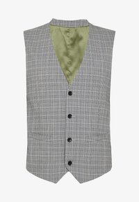 Esprit Collection - PRINCE CHECK - Gilet elegante - light grey - 3