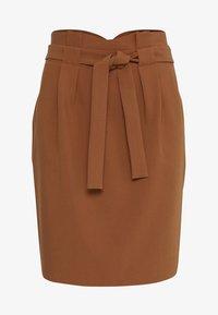 ICHI - IHUDELE - Pencil skirt - mocha bisque - 6