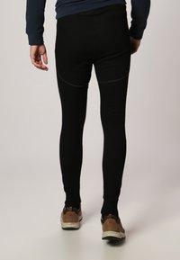 ODLO - LONG X-WARM - Dlouhé spodní prádlo - black - 3