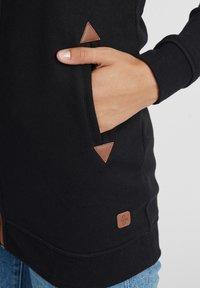 Oxmo - VICKY  - Zip-up hoodie - black - 4