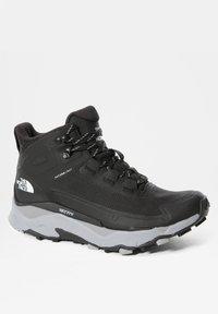 The North Face - W VECTIV EXPLORIS MID FUTURELIGHT - Chaussures de marche - tnf black/meld grey - 5