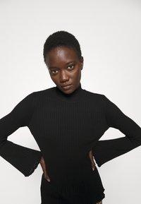 M Missoni - MOCK NECK - Long sleeved top - black beauty - 4
