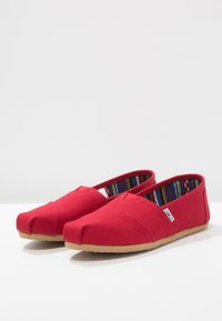 TOMS - Slip-ons - red - 2