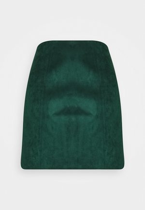 SCARLETTE SEAMED - Áčková sukně - deep green