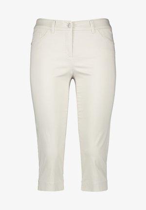 BEST - Denim shorts - beige